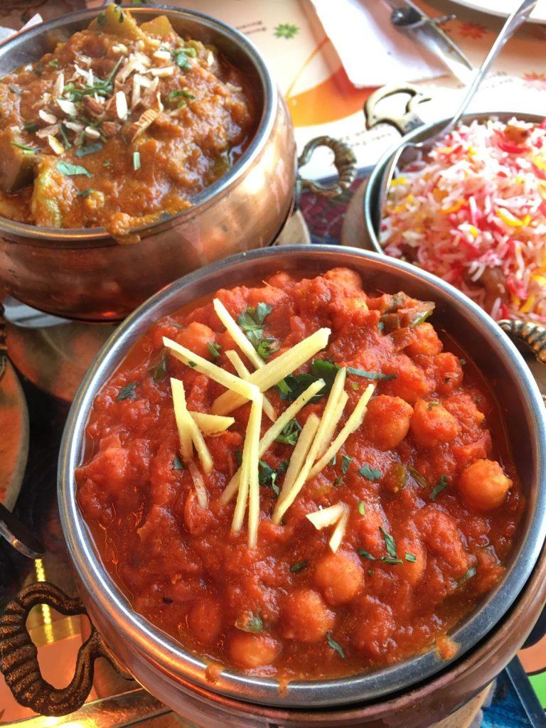 hint restoranı Chana masala