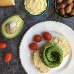 ekmeğin üzerine sürmelik kajudan vegan peynir