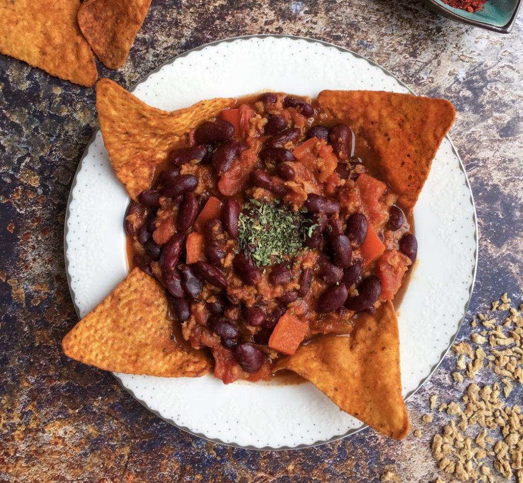 vegan kıymalı meksika fasulyesi tarifi