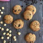 damla çikolatalı kurabiye - vegan ve az şekerli