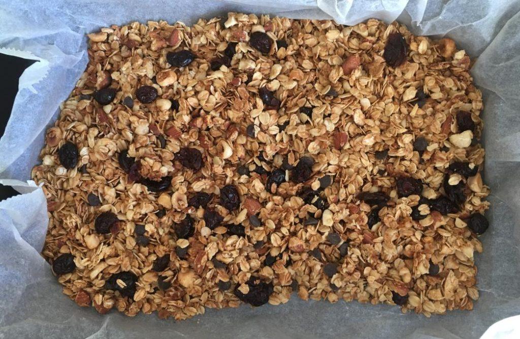 vegan granola yapılışı bu kadar basit