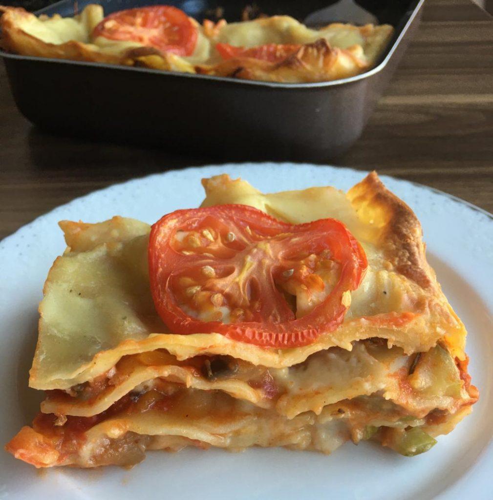 vegan lasagna tarifi