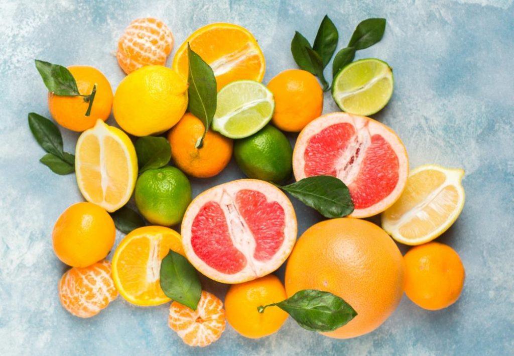 ekim ayı sebze ve meyveleri : mandalina greyfurt ve portakal