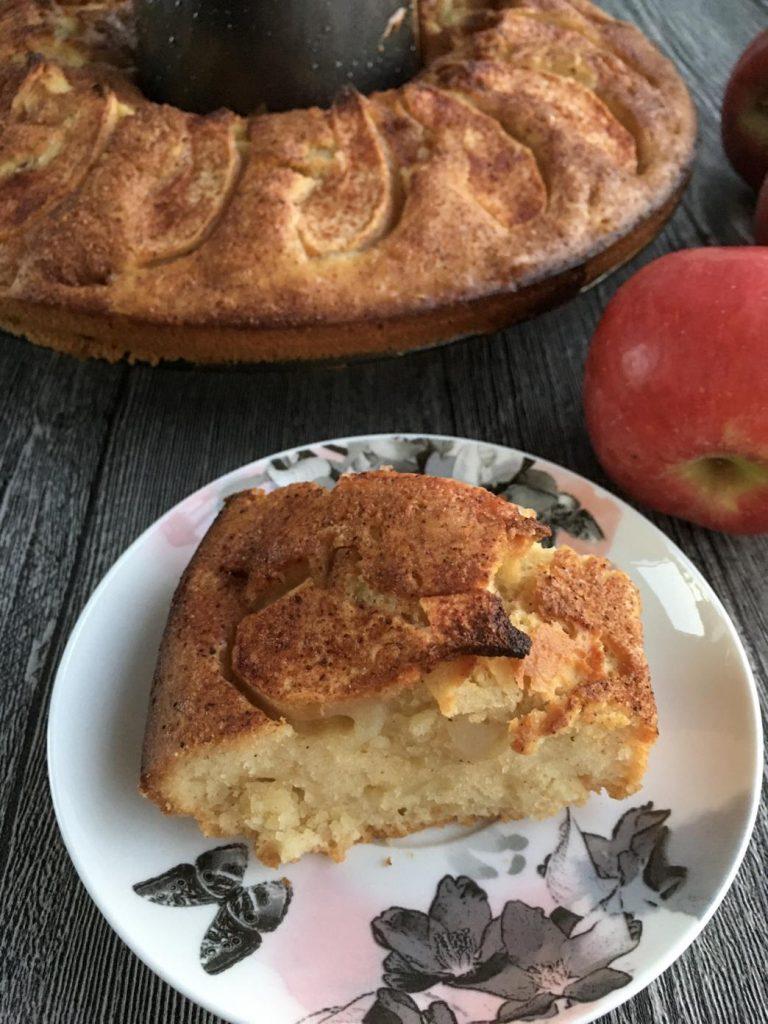 pratik elmalı tarçınlı kek