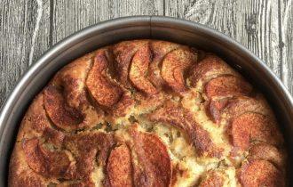 vegan tarçınlı elmalı kek