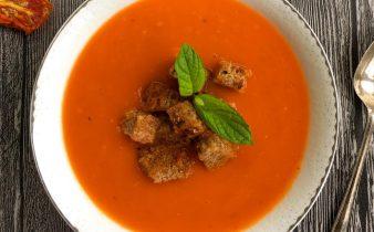 kuru domates çorbası