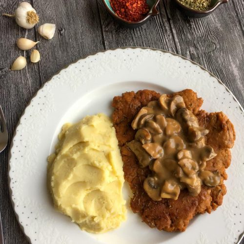 seitan tarifi ile vegan steak