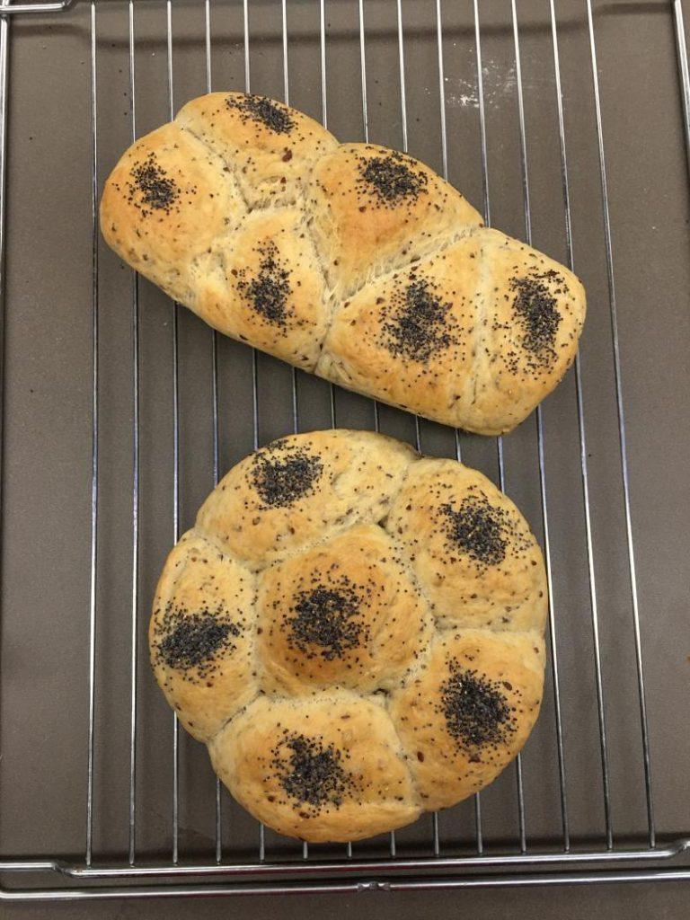 fransız ekmeği piştikten sonra