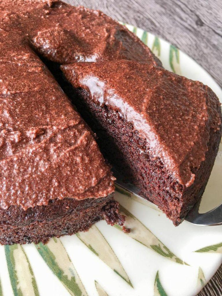 sütsüz kakaolu kek