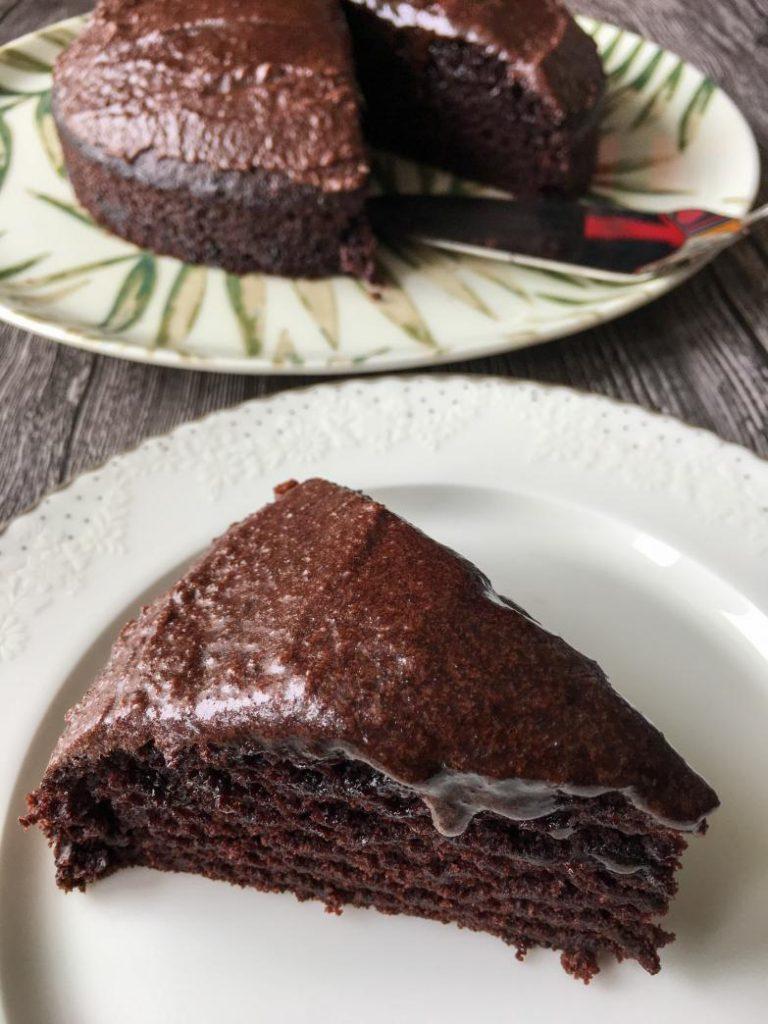 yumurtasız kakaolu kek vegan